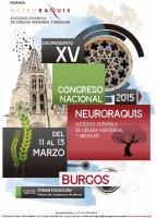XV Congreso Nacional Neuroraquis