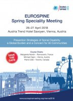 EUROSPINE SPRING SPECIALITY MEETING